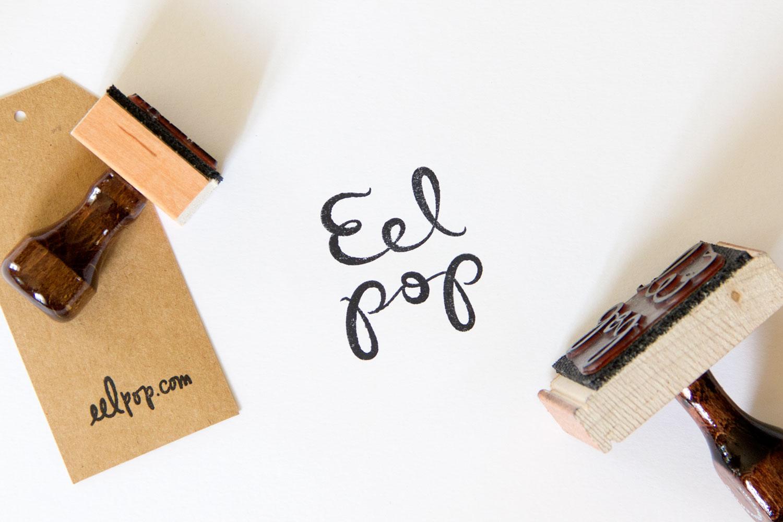 Eel Pop Rubber Stamps