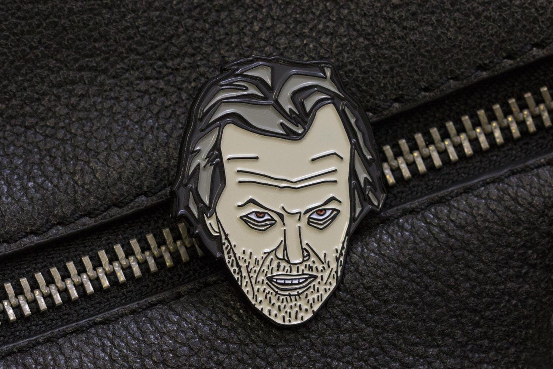 The Caretaker enamel pin product photo